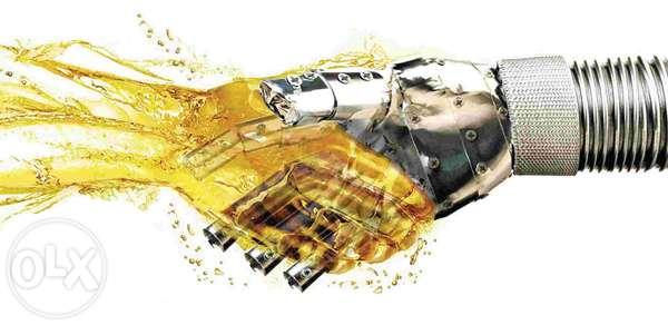 olejowa ręka